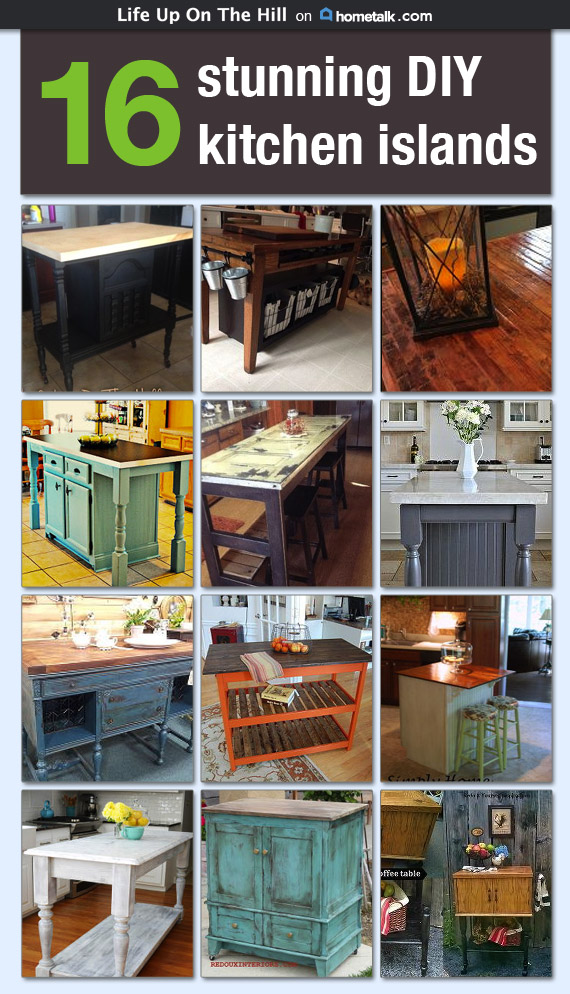 DIY Kitchen Islands on Hometalk