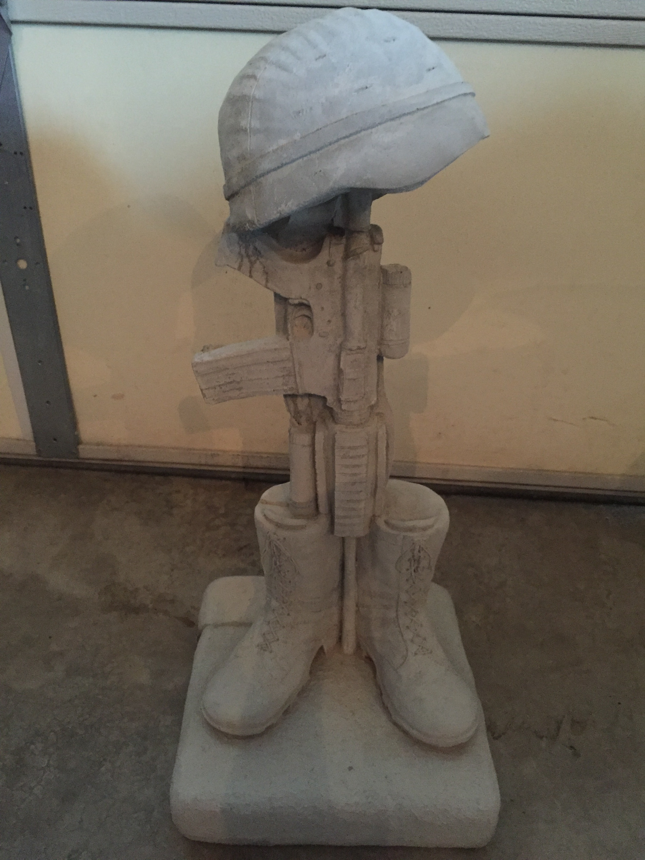 Latest Project Up On The Hill:  Concrete Statue